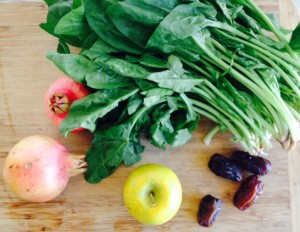 produce from the Culver City farmers market