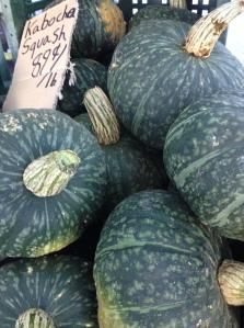 Kabocha squash, Culver City farmers market