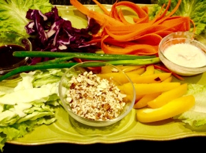 Lech Lecha preparation platter