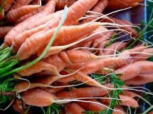 Carrots. Smith Farms. La Cienega Farmers Market