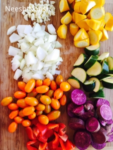 Technicolor Stew ingredients