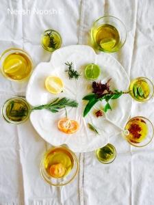 Infused Chanukah oils
