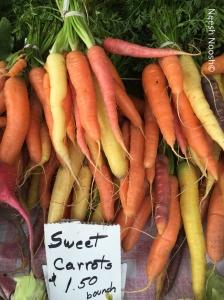 Carrots. Carpinteria Farmers Market, Carpinteria, CA