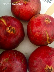 Pomegranates, Culver City, CA Farmers Market