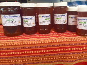 Jerry'Ds Country Bees. La Cienega Farmers Market