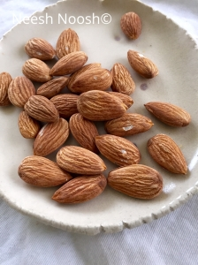 Almonds from Yolo, CA