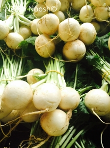 Turnips. Culver City Farmers Market