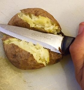 """Smashing"" the potato"