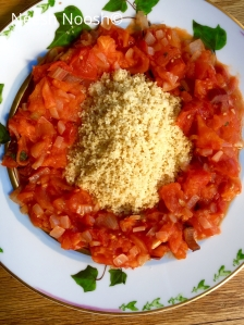 Shemini: Couscous and tomato stew