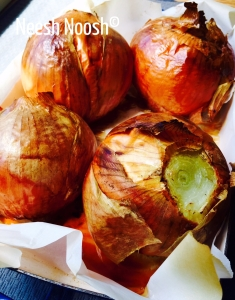 Matot-Massei: Roasted onions