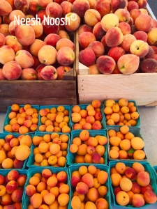 Peaches and nectarines. Toigo Orchards, Bethesda, MD farmers market
