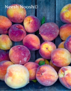 Peaches. Potomac Farm Market, Glen Echo, MD