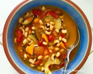 Tevet: Black Eyed Pea Soup