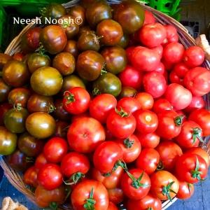 Tomatoes. Shuk HaNamal. Tel Aviv