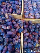 Medjool dates. Shuk Hanamal. Tel Aviv