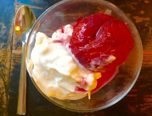 Elul: poached plum